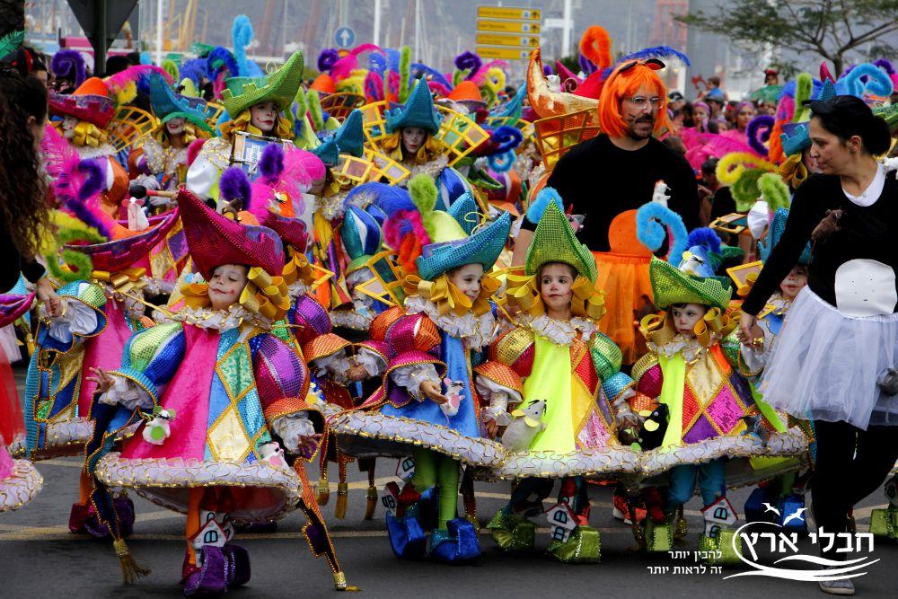 קרנבל סנטה קרוס דה טנריף | צילום: יוסי בן עמי | חבלי ארץ